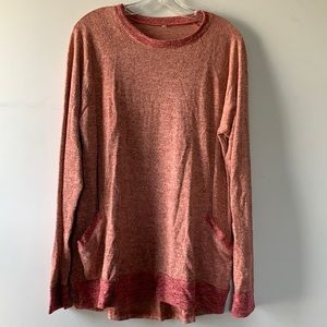 Long Sleeve Tunic Pink Soft to Touch Size XL 12